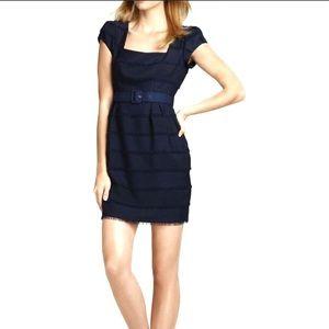 Nanette Lepore feeling lucky sheath fringe dress